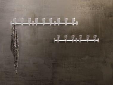 Cabide em aço de parede SWING | Cabide de parede