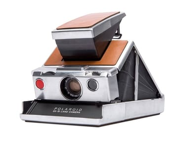 Instant Camera SX-70™ CAMERA SILVER-BROWN