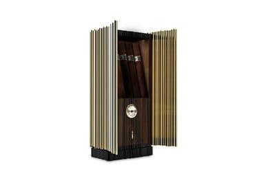 Rosewood and brass cigar humidor SYMPHONY | Cigar humidor