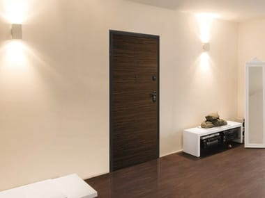 Acoustic metal safety door with electronic lock SYNERGY-IN AT4