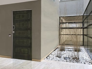 Acoustic fire-rated metal safety door SYNERGY-IN ELETTRA DETECTOR