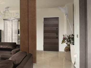 Fire-rated safety door with electronic lock SYNERGY-IN SENTRY DOBLE