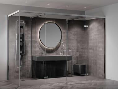 Glass shower cabin SYSTEM 210