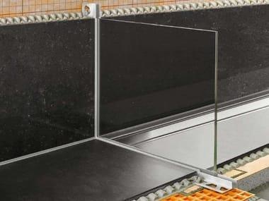 Profilo per alloggiamento vetro Schlüter®-DECO-SG