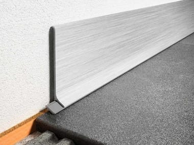 Metal Skirting board Schlüter®-DESIGNBASE-SL