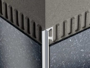 Decorative aluminium Edge protector for walls Schlüter®-INDEC