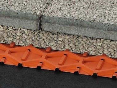 Sistema di drenaggio per balconi e terrazzi Schlüter®-TROBA