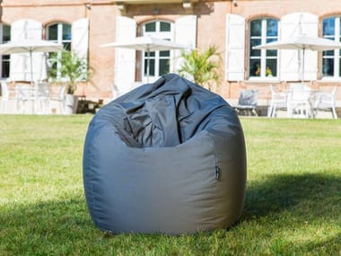 Fabric bean bag with removable cover SCUBA X-TREM SUNBRELLA