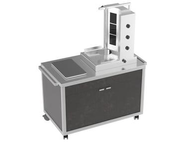 Kebab machine Shawarma cart