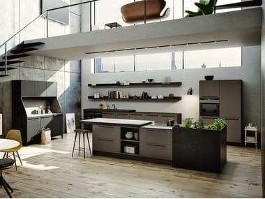 Kitchen SieMatic URBAN 29 SE 8008 LM / SE 4004 E