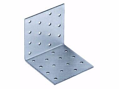 Piastra angolare semplice in acciaio zincato Piastra angolare in acciaio zincato