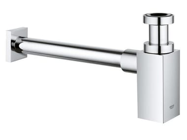 Washbasin chromed brass siphon Siphon