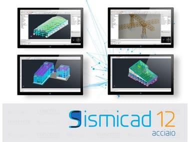 Software FEM di calcolo strutturale per elementi in acciaio Sismicad Acciaio