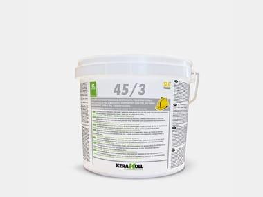 Adesivo organico minerale certificato 45/3