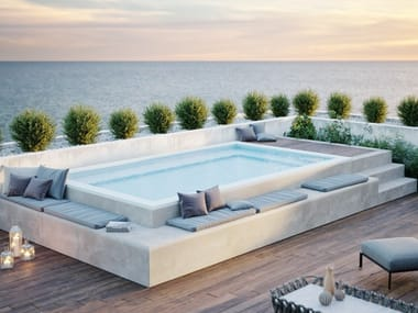 Terrace Pool in EPS and Polypropylene SpaSpace