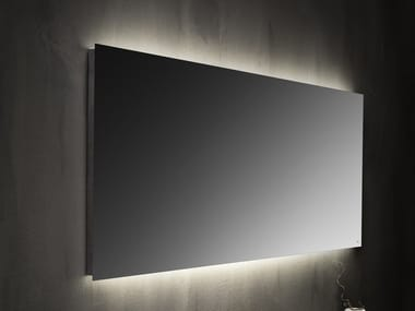Wall-mounted mirror with integrated lighting Mirror with integrated lighting
