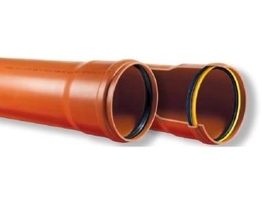 Tubo in PVC con bicchiere ad anello Stabil SN4