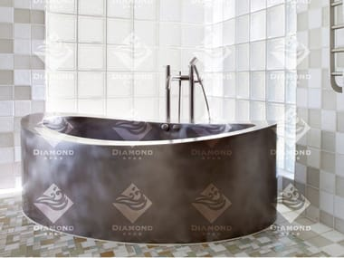浴缸 Stainless Steel Elliptical Soaking Bath