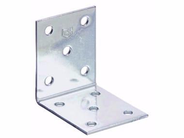 Piastra angolare semplice in acciaio inox Piastra angolare semplice inox