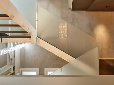 Glass Open Staircase Stairs