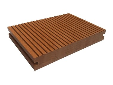 Engineered wood decking Staves Solid Profile