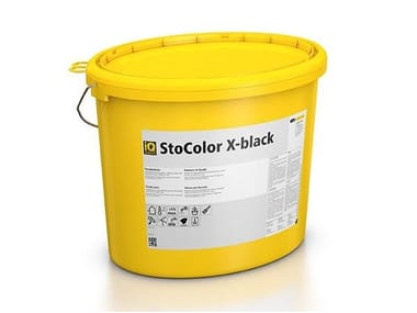 Anti-radiation reflective paint for finish StoColor X-black