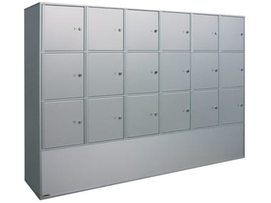 Aluminium box Storage lockers