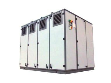 Outdoor boiler Container for outdoor boiler