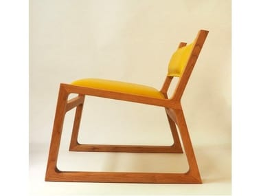Solid wood easy chair SUMMER