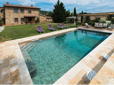 In-Ground natural stone swimming pool Swimming pool 3