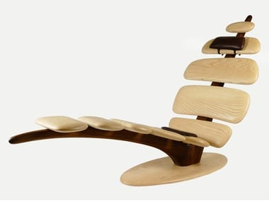 Ash lounge chair T-RELAX