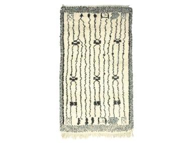 Rectangular wool rug BENI OURAIN TAA991BE