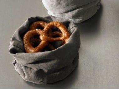 Light doubled linen bread holder TAB