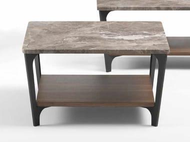 Low square coffee table TAB | Square coffee table