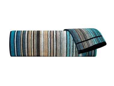 Asciugamano in spugna di cotone velour TABATA | Asciugamano