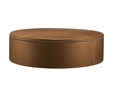 Pouf / tavolino in pelle TABOURET 120