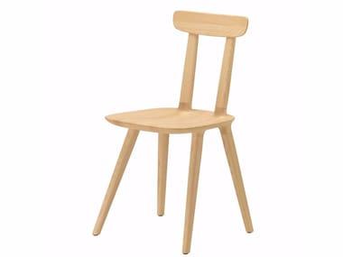 Ash chair TABU BACKREST WOOD - 075