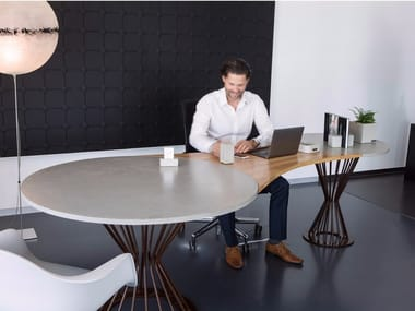 Office desk / meeting table TABULA COSMOS