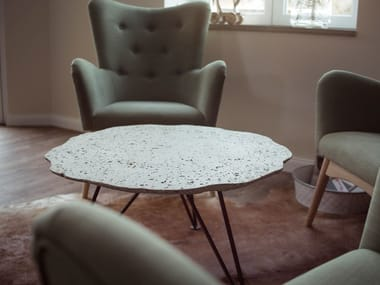 Round coffee table TABULA NIMBUS LOUNGE