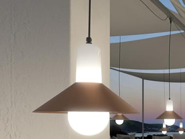 LED polycarbonate pendant lamp TAGOMAGO 6584
