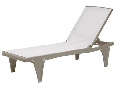Tumbona de jardín reclinable TAHITI