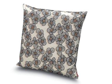 Cuscino in raso di cotone ricamato TAIWAN