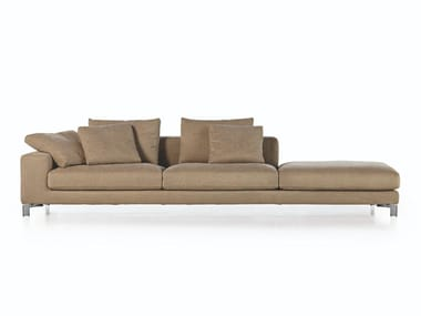 Sofa with removable cover TAKE IT EASY | Sofa