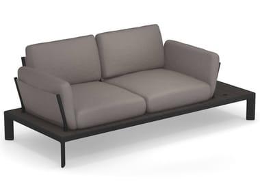 2 seater fabric garden sofa TAMI | 2 seater garden sofa