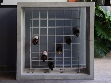 Floor cement bottle rack TANNINO