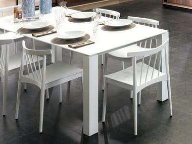 Wood veneer chair TAO | Chair