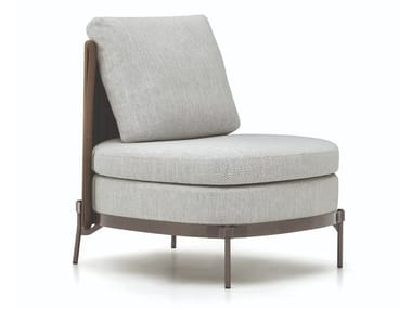 Fabric garden armchair TAPE CORD OUTDOOR | Garden armchair