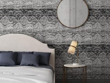 Damask vinyl wallpaper TAPISSERIE | Wallpaper