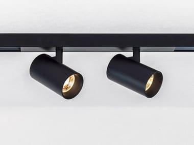 Illuminazione a binario a LED in alluminio verniciato a polvere TARE XS2 MAGNETIC