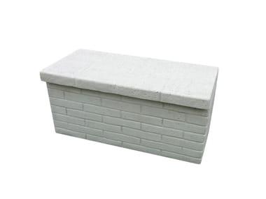 Panchina in pietra ricostruita TARIM